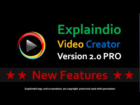 Thumbnail: New Features Explaindio Video Creator 2.0 PRO