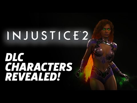 Injustice 2 - First DLC Characters Revealed!