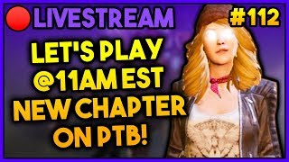 🔴 LET'S PLAY NEW CHAPTER PTB - DBD PTB (2020) PATCH 3.6.0 LIVESTREAM PART 112
