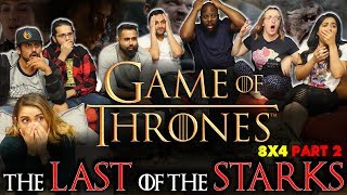 Game of Thrones - 8x4 The Last of the Starks [Part 2] - Group Reaction