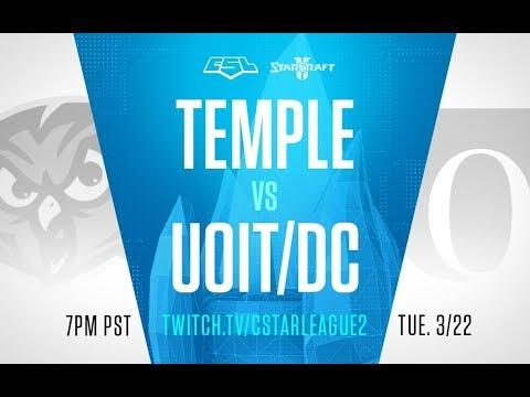 Playoffs Ro16: Temple vs Ontario Tech