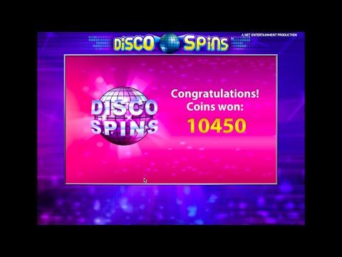 Online Slots Free Spins & £10,450 Big Win | Disco Spins