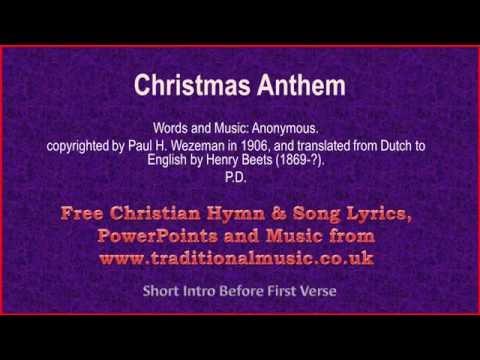 Christmas Anthem - Christmas Carols Lyrics & Music
