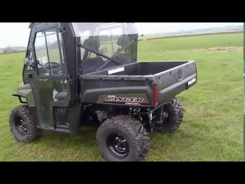 new polaris ranger diesel 900 with euro cab for sale. Black Bedroom Furniture Sets. Home Design Ideas