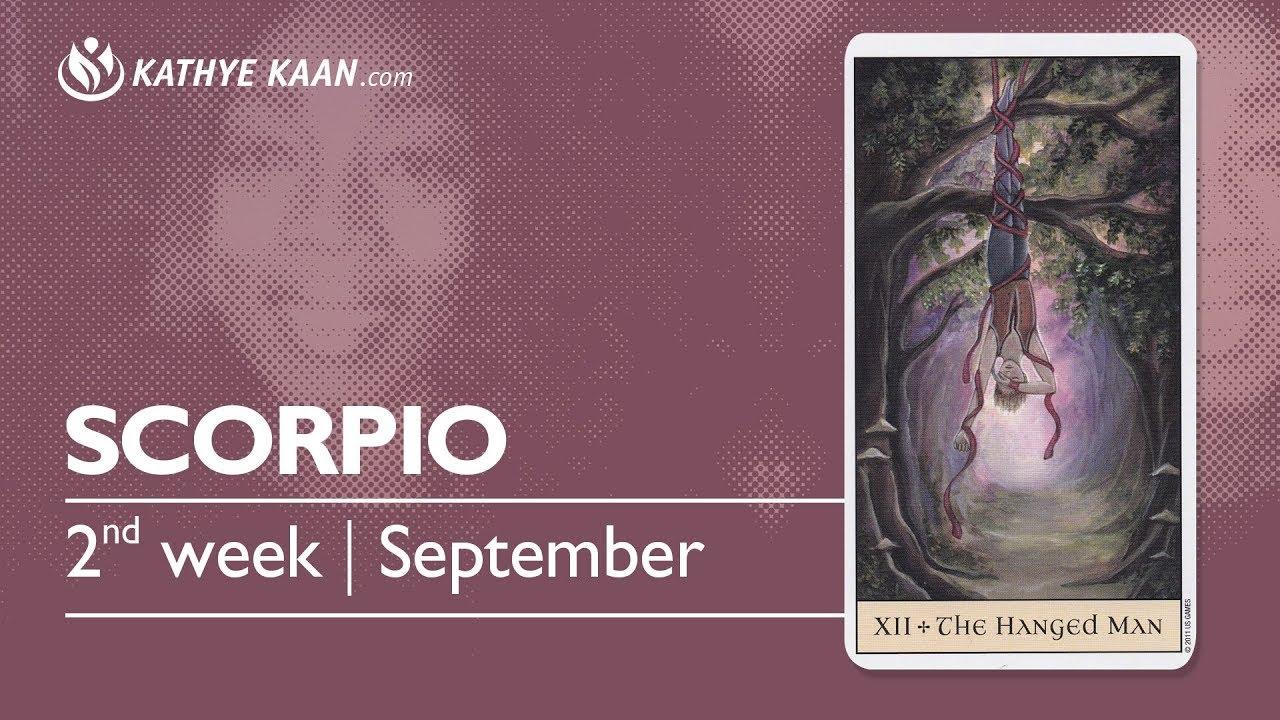 scorpio weekly 10 to 16 horoscope tarot