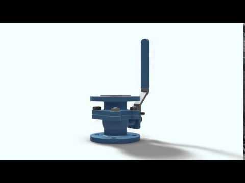 Ball Valve: Free 3D CAD Model For Autodesk Inventor, Solidworks And Autocad