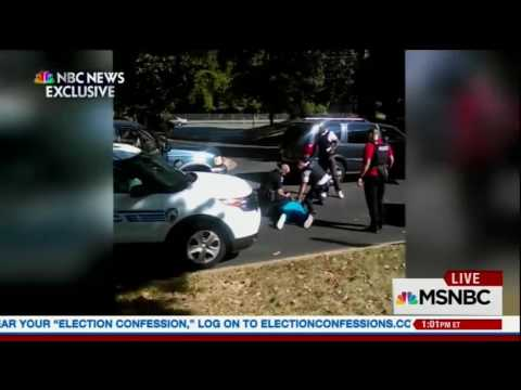 MSNBC shows Scott family video Charlotte police shooting