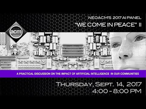 We Come In Peace II: A Panel Discussion on Artificial Intelligence in our Communities