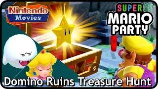 Super Mario Party: Partner Party - Domino Ruins Treasure Hunt (2 players, Master, 20 turns)