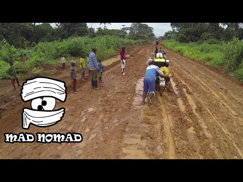 Congo motorcycle trip - mad nomad