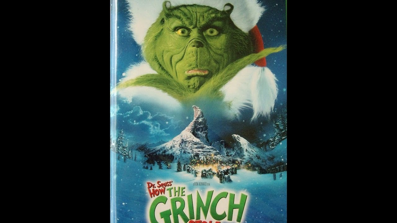 How The Grinch Stole Christmas 2000 Vhs.Opening To How The Grinch Stole Christmas 2000 2001 Vhs