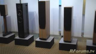 Bristol Sound and Vision 2010 - Speaker and subwoofer demos and products