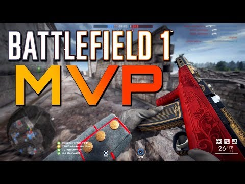 Battlefield 1: Medic MVP - 75 Kills (PS4 PRO Multiplayer Gameplay)