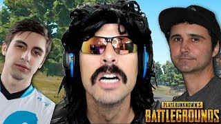 DrDisRespect plays PUBG with Summit1g and Shroud + Funny Moments on Battlegrounds!