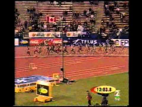 10000 MT FINAL CPTO DEL MUNDO EDMONTON 2001