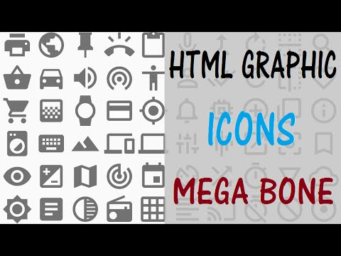 HTML GRAPHIC : ICONS TUTORIAL