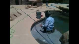 Swimming Pool Tile Cleaning - Splash X Pools