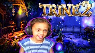 Trine 2 Gameplay | PC Games for Girls | Family Friendly | Girl Gamers