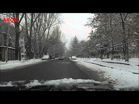 Driving in the city (Tbilisi)