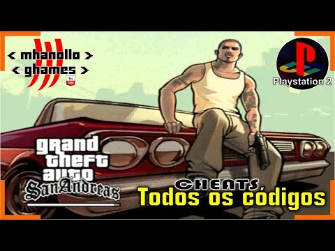 Playstation Gta San Andreas Todos Os Codigos