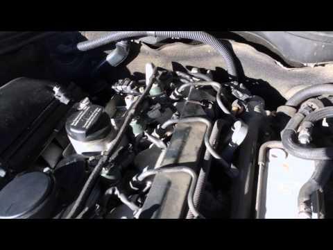 C220 CDI - Вибрация двигателя. Engine vibration