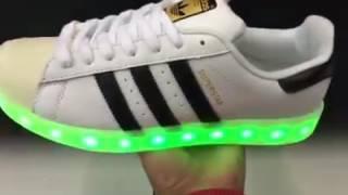 Adidas Superstar light - YouTube