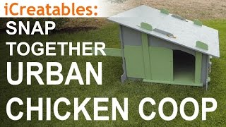 Simple Urban Chicken Coop Build