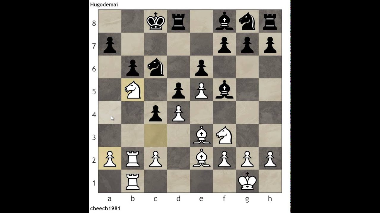 Punishing Early Queen Activity by Your Opponent Example from the Caro Kann