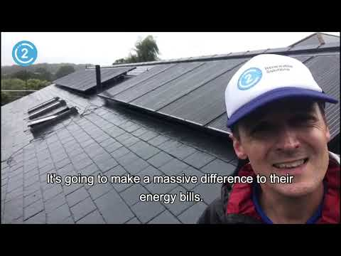 Offsetting your Air Source Heat Pump with Solar Panels