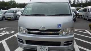 Toyota Hiace Super Long Widebody Highroof Welcab @ Edward Lee