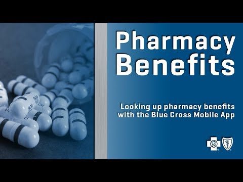 Looking Up Pharmacy Benefits With The Blue Cross Mobile App