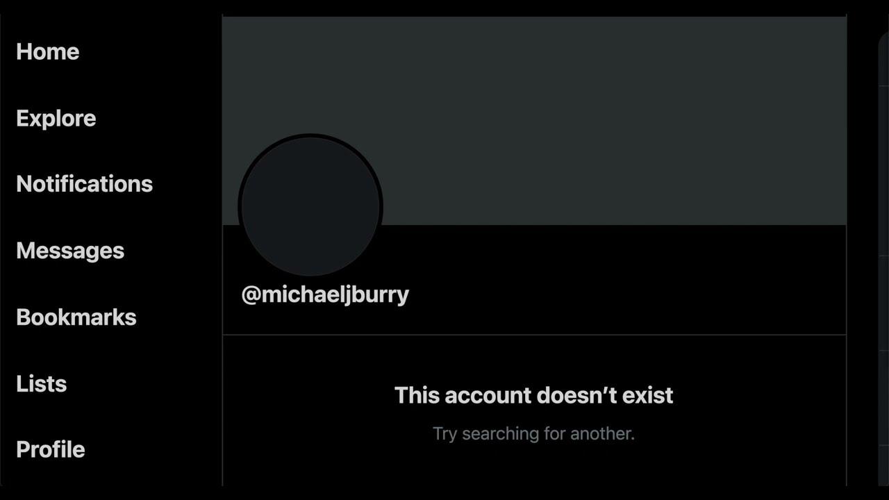 The Big Short Michael Burry DELETES Twitter Account!
