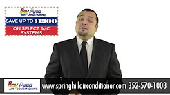 Spring Hill Air Conditioning Installation and Replacement