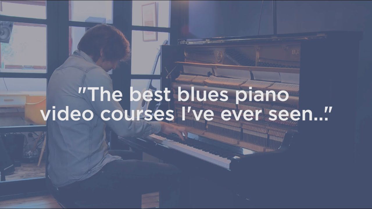 Blues // Boogie // New Orleans // Rock & Roll piano courses with Paddy Milner!