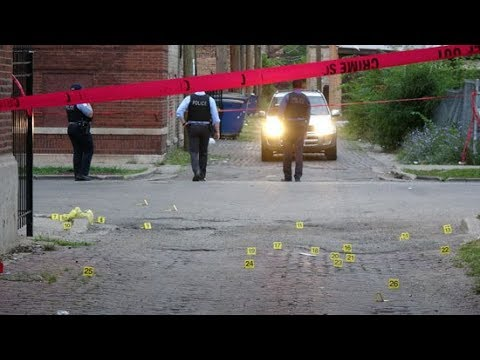 Warning Graphic: Bloodbath in Chicago, 74 Shot, 12, Fatally in Weekend Shootings
