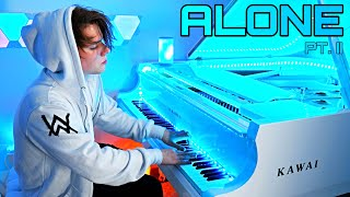 Alone - Alan Walker & Ava Max (Piano cover) by Peter Buka видео