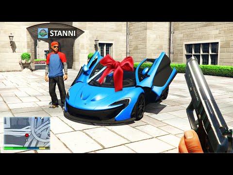 Ich SCHENKE StandartSkill ein AUTO in GTA 5 RP! 😍