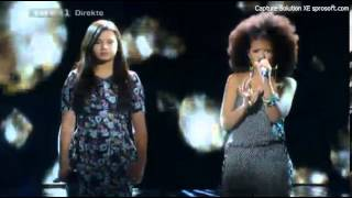 "[X Factor DK] Anna og Lusanda sings ""My Kind of Love"" - Live Show 1 [LQ]"