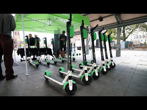 Lime Electric Scooter Rentals Are Now In Lexington