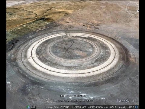 Ancient Alien Mining Complex With 6,538 Sq Ft. Landing Pad