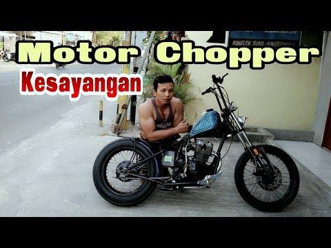 Modifikasi motor Chopper dari honda GL Pro 92 / otan gj