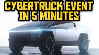 Tesla CyberTruck Event Under 5 Minutes
