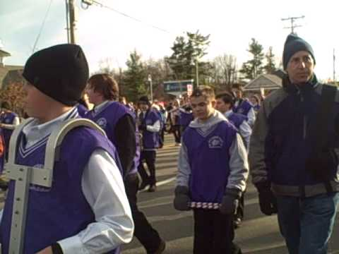 West Running Brook Middle School Band at the Derry Holiday Parade
