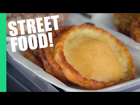Best Cambodian STREET FOOD in Phnom Penh | Central Market