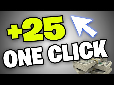 EARN $25 For Clicking ONE BUTTON! (EASIEST WAY To Make Money Online 2020)