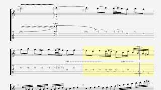 Too Much Is Never Enough (solo) Guitar Pro Tab