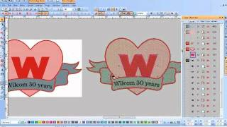 Wilcom makes your business more efficient: Manual Digitizing vs Auto Vector to Stitch - Part 4