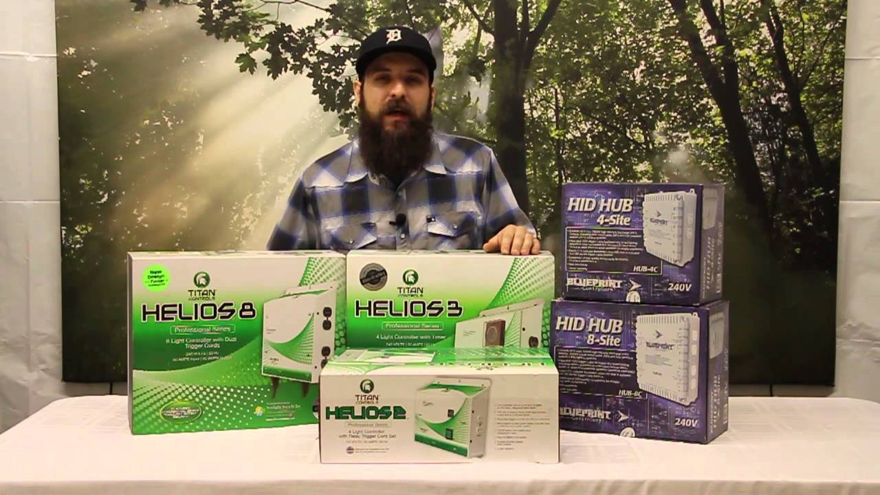 Grow Room Lighting Controllers and How to Power your
