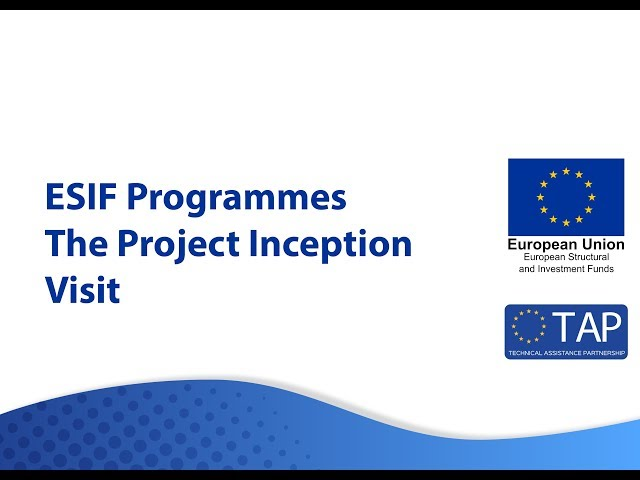 ESIF TAP - The Project Inception Visit
