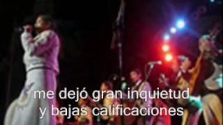 LA MOCHILA AZUL /  KARAOKE C/COROS - MRA. JOSE.wmv